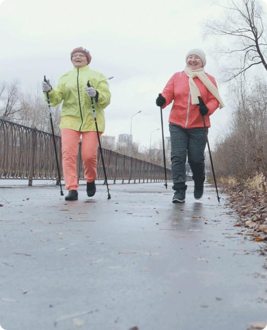Nordic Pole Walking - Prime care, Milton