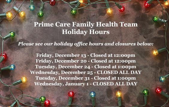 Prime care family health team